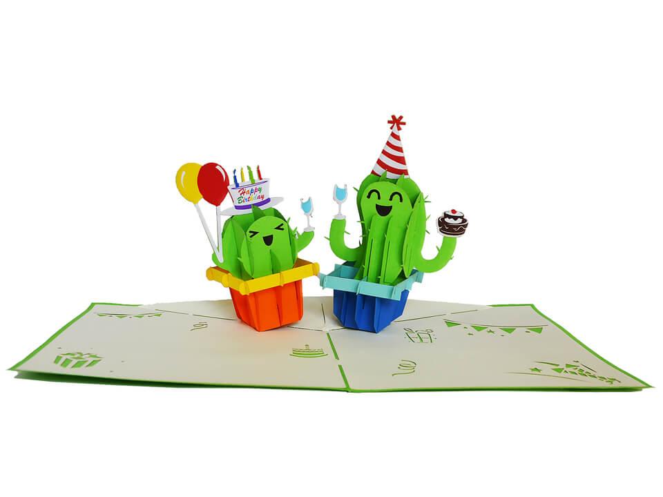 Birthday-idee cadeau originale-carte Pop Up 3D chez cartepopup.com