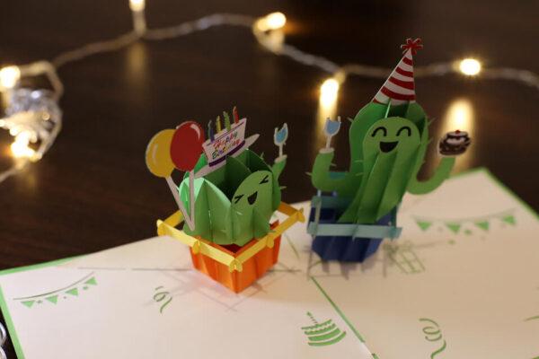 Birthday-carte Pop Up 3D chez cartepopup.com